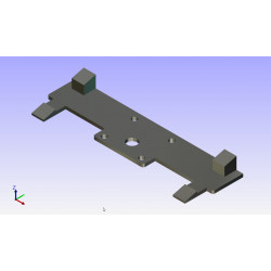 Filamento ABS XYZprinting RF10XXEU06G Púrpura 600gr